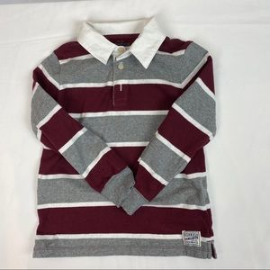 3/$20 OSHKOSH B'GOSH Boy's Striped Shirt 4Y
